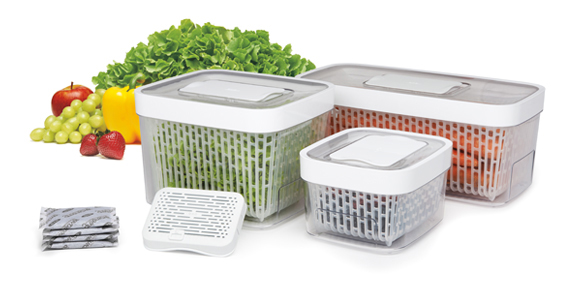 Vegetable Saver Containers How it works oxo greensaver products workwithnaturefo